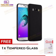 Twelven Case Slim Matte For Samsung J5 2016 J510 - Free Tempered Glass