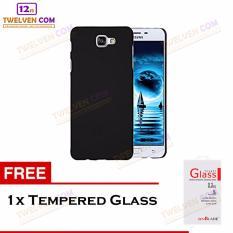Twelven Case Slim Matte For Samsung J5 Prime - Free Tempered Glass