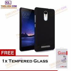 Twelven Case Slim Matte For Xiaomi Redmi Note 4 Snapdragon - Free Tempered Glass