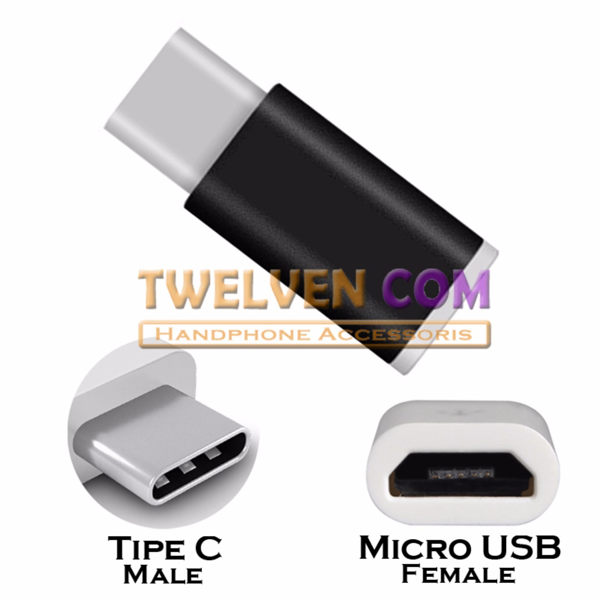 Twelven Micro USB (Female) to Type C (Male) Adapter Metal