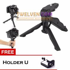 Twelven Mini Tripod Multifungsi 2 In 1 DSLR,Xiaomi Yi,Camera Digital