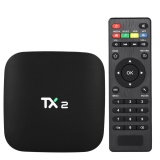 Tx2 Smart Android Tv Box Android 6 Rockchip Rk3229 Quad Core Uhd 4K Vp9 H 265 Mini Pc 2Gb 16Gb Dlna Wifi Lan Hd Media Player Eu Plug Intl Tiongkok Diskon 50