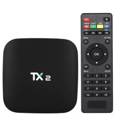 TX2 Smart Android TV Box Android 6.0 Rockchip RK3229 Quad Core UHD 4K VP9 H.265 Mini PC 2GB / 16GB DLNA WiFi LAN HD Media Player EU Plug - intl