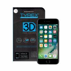 Jual Tyrex 3D Full Cover Tempered Glass For Iphone 7 White Murah Di Jawa Timur