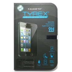 Jual Beli Online Tyrex Garansi Iphone 5 5S Tempered Glass Screen Protector Free Plastic Back Protector