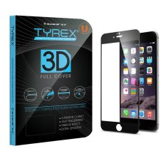 Beli Tyrex Iphone 6 6S 3D Full Cover Tempered Glass Screen Protector Hitam Online Terpercaya