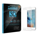 Tyrex Iphone 6 6S 3D Full Cover Tempered Glass Screen Protector Putih Tyrex Diskon 30