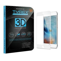 Beli Tyrex Iphone 6 6S 3D Full Cover Tempered Glass Screen Protector Putih Cicilan