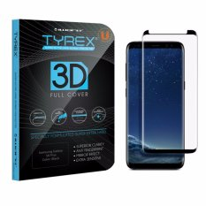 Jual Tyrex Samsung Galaxy S8 S8 Plus 6 2 3D Full Cover Tempered Glass Screen Protector Black Murah