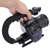 Spesifikasi U Bentuk Bracket Video Handle Handheld Steadicam Stabilizer For Kamera Dslr Oem