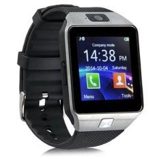 Promo U Watch U9 Smartwatch Dz09 Sim Card Micro Sd Android Strap Karet Hitam Silver Bj Di Dki Jakarta