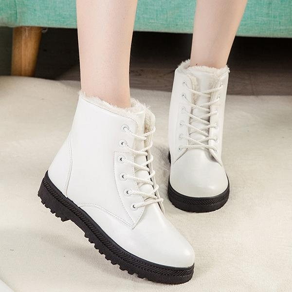 Toko U S Ukuran 5 11 Winter Boots Tetap Hangat Mewah Outdoor Salju Boots Intl Online Tiongkok