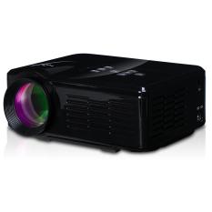 U35 Portabel HDMI Proyektor Mini Bioskop Rumah Standar EU Hitam