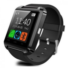 Beli U8 Bluetooth Smart Watch Wristwatch With Camera Touch Screen For Android Os And Ios Smartphone Samsung Smartphone Black Online Hong Kong Sar Tiongkok