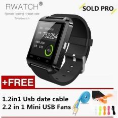 Harga U8 Smart Watch Clock Sync Notifier Mendukung Konektivitas Bluetooth Untuk Android Ponsel Smartwatch Hadiah Gratis Intl Online Tiongkok