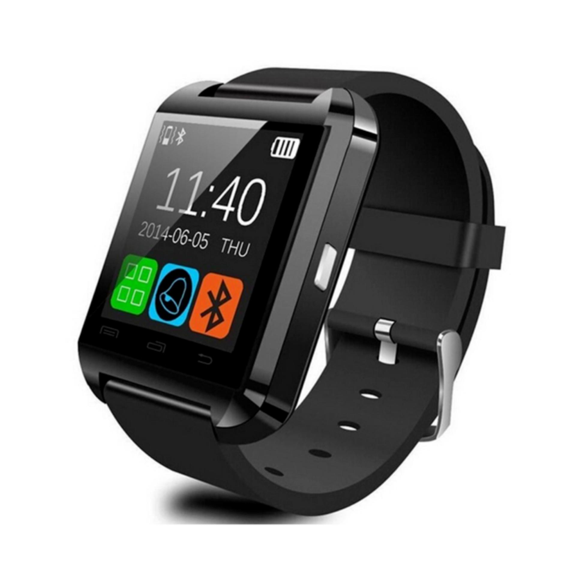 U8 Smartwatch For Android and iOS Smart Watch Jam Tangan HP - Bluethooth