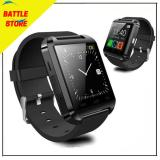 Spesifikasi U8 Smartwatch Smart Watch U8 Bluetooth Watch International For Android Hitam Terbaru