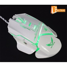 Beli Ubuy Lampu Latar Rgb Gaming Mice Led Usb Wired Cf Plus Gaming Mouse Di Tiongkok