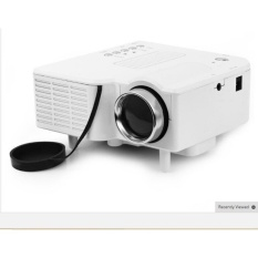 UC-40 HD 400 Lumens Home Mini LED Projector LCD Projector SupportAV SD VGA HDMI SD Card Electronic Zoom Vehicle Power Supply - intl