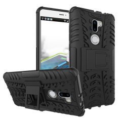 UEKNT Heavy Duty Rugged Hybrid Dual Layer Kickstand Shockproof Case Pelindung Cover Case untuk Xiao