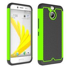 UEKNT Kasar Desain Sepak Bola Case dengan Absorption Shock Absorption Protective Cover Case untuk HTC 10 EVO (Hijau) -Intl