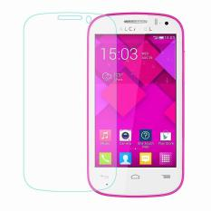 Ueokeird 9 H HD Clear Tempered Glass Screen Protector Film untuk Alcatel Pop C3-Intl