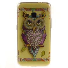 Ueokeird Colorful OWL Dicetak Gel Karet TPU Gel Silicone Soft Case Cover Pelindung Kulit untuk Samsung Galaxy J3 2016/ J310/J320/Amp Prime/Express Prime-Intl