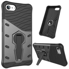 Ueokeird Heavy Duty Shockproof Dual Layer Hybrid Armor Protective Cover with 360 Degree Rotating Kickstand Case for Lenovo ZUK Z2 - intl