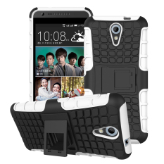 Ueokeird Heavy Duty Shockproof Dual Layer Hybrid Armor Protective Cover with Kickstand Case for HTC Desire 620 - intl