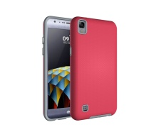 Ueokeird Kasar Shock Modern Ramping Non-slip Grip Cell Phone Cover Case untuk LG X Power-Intl