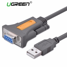 Promo Ugreen 1 5 M Usb Ke Rs232 Db9 Serial Female Converter Adapter Cable Dengan Pl2303 Chipset Intl Ugreen Terbaru