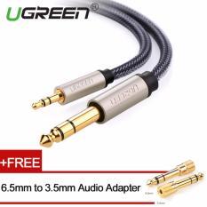 Toko Ugreen 3 5Mm Papan 6 5Mm Audio Kabel Nilon Dikepang With Audio Adapter 1M Online
