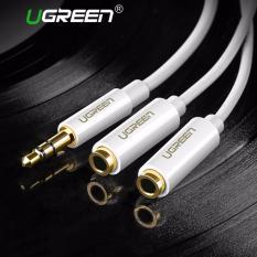 UGREEN 3.5 mm Audio Stereo Headset Headphone kabel Y untuk pembelah - Internasional