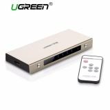 Ugreen 5 Port Hdmi Switch Kotak Dukungan 4 K 3D 1080 P Dengan Remote Control Nirkabel Untuk Ps4 Ps3 Xbox Blu Ray Skyq Kotak Kotak Tv Komputer Dll Uk Plug Intl Original