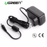 Toko Ugreen Ac Dc Adapter Dc 12V 2A Ac 100 240V Converter Adapter Universal Wall Charger Power Supply Eu Plug 2 1Mm X 5 5Mm Intl Lengkap