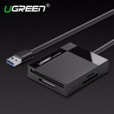 Diskon Ugreen Semua Dalam 1 512G Usb 3 Card Reader Super Speed Tf Cf Ms Micro Sd Card Reader Multi Smart Memori Untuk Komputer Usb Kartu Reader 5M Kabel Intl Ugreen Di Tiongkok