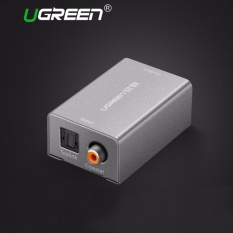 Model Ugreen Digital Ke Analog Audio Adaptor Optical Coaxial Toslink Audio Converter Rca L R 3 5Mm Dengan Dc5V 2A Adaptor Steker Inggris Internasional Terbaru