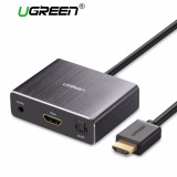 Harga Ugreen Hdmi Audio Extractor Hdmi Ke Hdmi Dengan Optical Toslink Spdif Audio Extractor Converter Hdmi Audio Splitter Adapter Untuk Home Theater Aplikasi Blu Ray Dvd Player Xbox One Sky Hd Box Ps3 Ps4 Intl Termahal