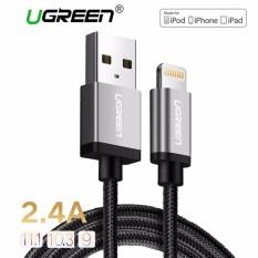 Harga Metal Alloy Usb Petir Kabel Usb Charger Cable Nilon Bradied Desain Untuk I Phone 4 5 6 7 8 Iphone X Ipad Hitam 1 5 M Intl Paling Murah