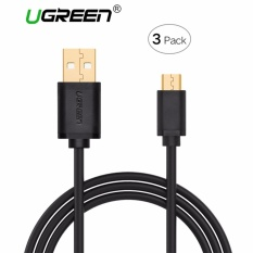 Tips Beli Ugreen Micro Usb Cable 3 Pack 1M Micro Usb To Usb 2 A Male Cable Android Sync Charging Cord Intl Yang Bagus