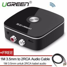 Diskon Ugreen Mini Bluetooth 4 1 Audio Receiver 2Rca Nirkabel Musik Adapter Dengan 3 5Mm Untuk 2Rca Kabel Audio Untuk Mobil Speaker Intl Ugreen