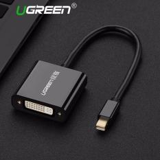 UGREEN Mini DisplayPort/Thunderbolt Ke DVI Video Adapter Kompatibel dengan MacBook, Macbook Pro, Macbook Air