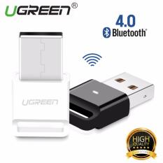 Jual Ugreen Mini Usb V 4 Dongle Crs Audio Bluetooth Pengadaan Penerima Compatible With Windows Pc Handphone Pembicara Putih Satu Set
