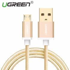 Berapa Harga Ugreen Nylon Dikepang Micro Usb Kabel Pengisian Kabel Untuk Ponsel Android 1 M Emas Intl Ugreen Di Tiongkok