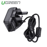 Jual Ugreen Premium Ul Certified External Power Supply Converter Adaptor Ac Dc 5 V 2A 1 35Mm X 3 5Mm Uk Plug Intl Di Tiongkok