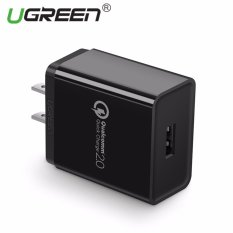 Spesifikasi Ugreen Qualcomm Certified Quick Charge 2 18W Usb Fast Wall Charger Smart Compatible With Galaxy S7 S7 Edge S6 Note 5 Note 4 Black Us Plug Intl Dan Harga