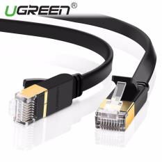 Beli Ugreen Ethernet Cable Cat7 Rj45 Network Patch Cable Flat 10 Gigabit 600Mhz Lan Wire Cable Cord Shielded For Modem Router Pc Mac Laptop Ps2 Ps3 Ps4 Xbox And Xbox 360 3Meter Ugreen