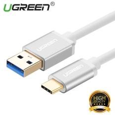 Jual Beli Ugreen Usb 3 To Type C Data Sync Charging Cable With Aluminum Connector White 25M Intl
