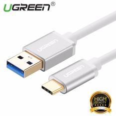 Ugreen Usb 3 Untuk Tipe C Sinkronisasi Data Pengisian Kabel With Konektor Aluminium Putih 2 M Di Tiongkok