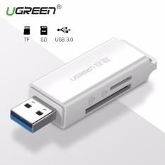 UGREEN USB 3.0 Card Reader Super Speed Mini SD TF Memory Card Reader for MacBook Max Support 256GB Micro SD Cardreader - intl